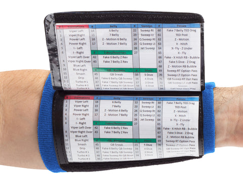 Royal Blue Wrist Coaches