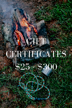 Wild Hound Outfitters Gift Certificates $25-$300
