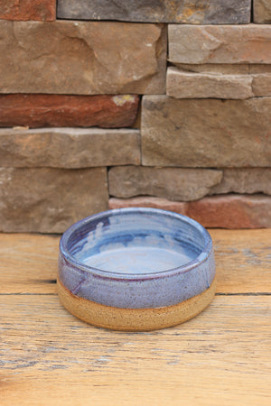 Ocean Tides Ceramic Dog Bowl