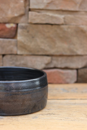 Midnight Sky Ceramic Dog Bowl