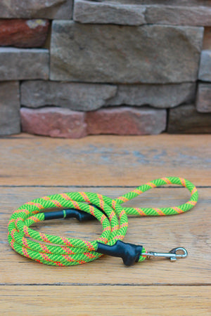 Climbing Rope Leash // NEON FUSION