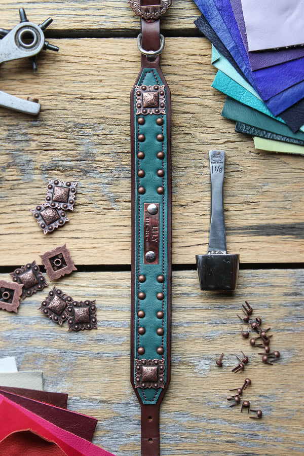 The Boone Leather Dog Collar