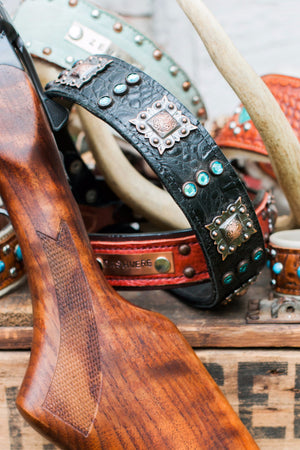 The Ringo Leather Dog Collar