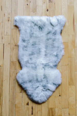 Sheepskin Dog Bed & Rug // MORNING MIST
