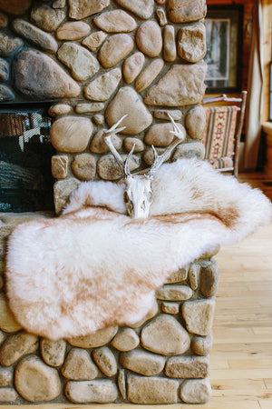 Sheepskin Dog Bed & Rug // MILK & HONEY