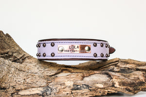 The Maddie Leather Dog Collar