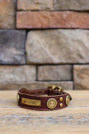 The Strait Leather Dog Collar
