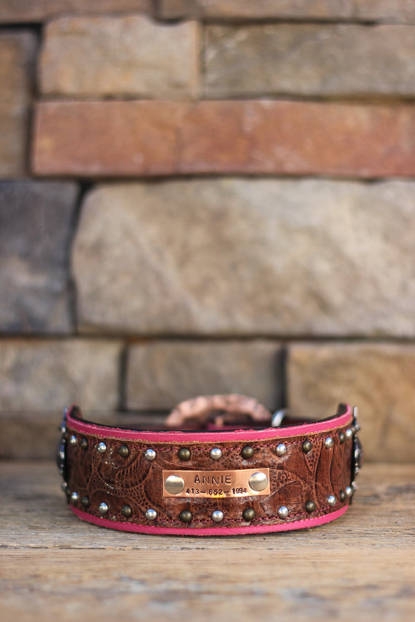 The Mauti Leather Dog Collar
