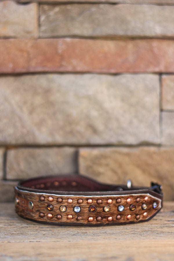 The Tulsa Leather Dog Collar
