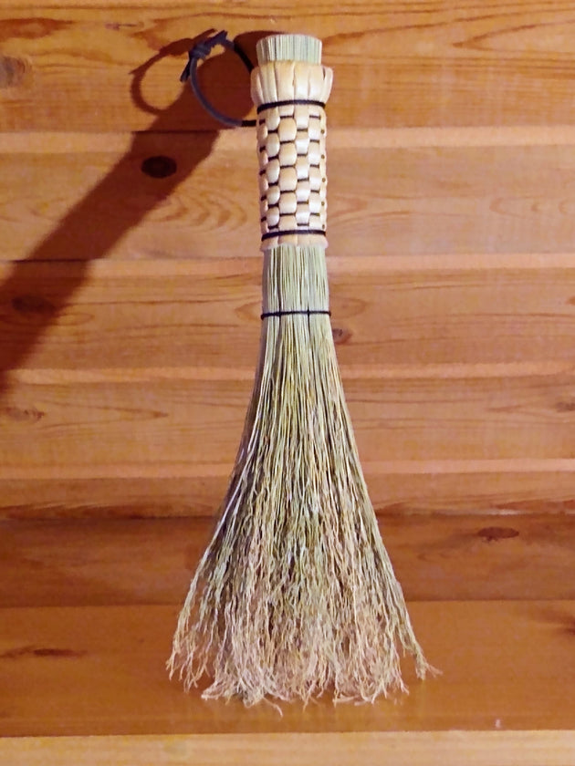 Otter Tail Woven Whisk - Crumb Brush - Round Whisk - American Broom Shop