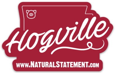 Hogville Sticker - Hometown Press | NTRL STMT | Catalyst | Print Local