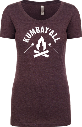 Kumbay'all Ladies' Tri-Blend Scoop Neck Tee - Hometown Press | NTRL STMT | Catalyst | Print Local