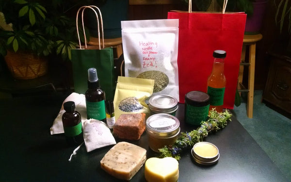 DIY Herb and Aromatherapy Holiday Gift Recipes