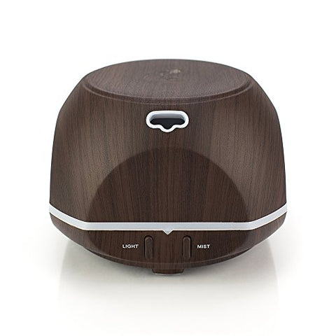 Little Buddy Dark Bamboo Oil Diffuser & Cool Mist Humidifier Perfect Air Freshener To Eliminate Any Embarrassing Odors