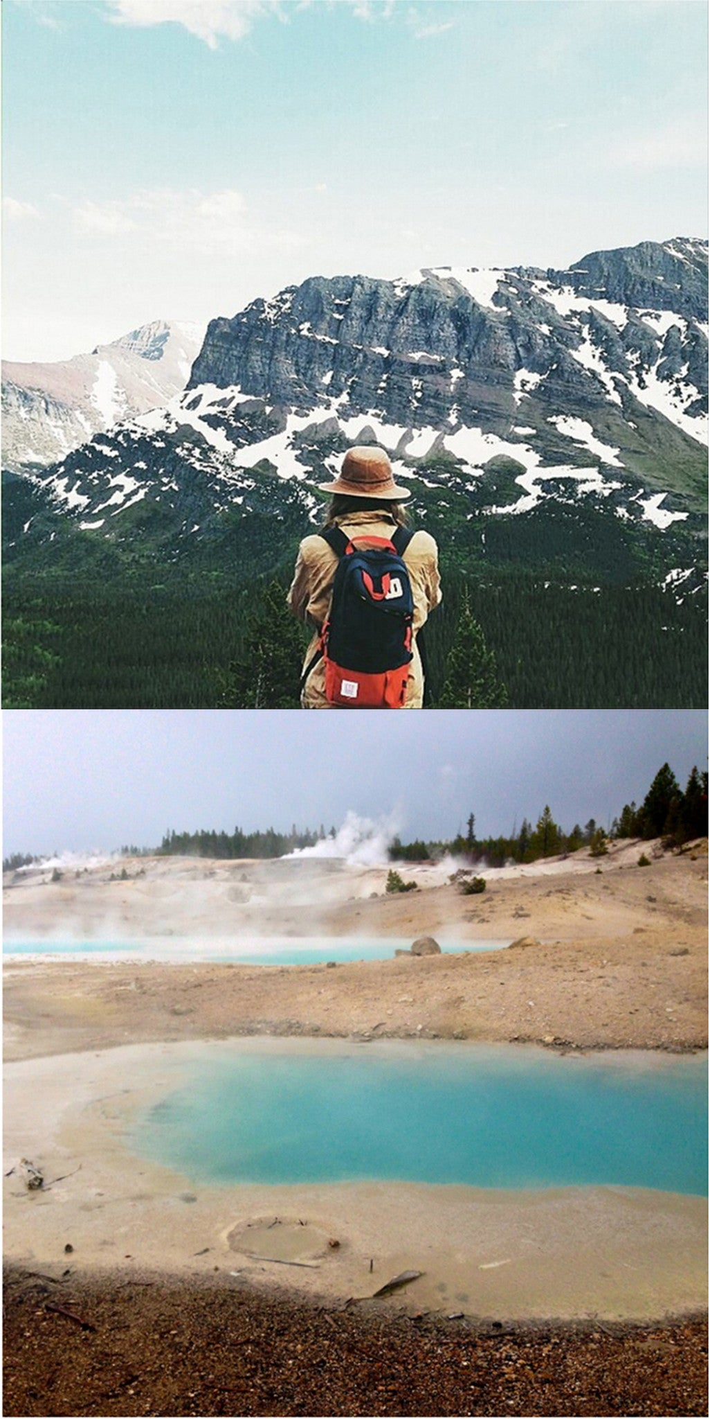 Greta de Parry Glacier National Park Chico Hot Springs Collective Quarterly
