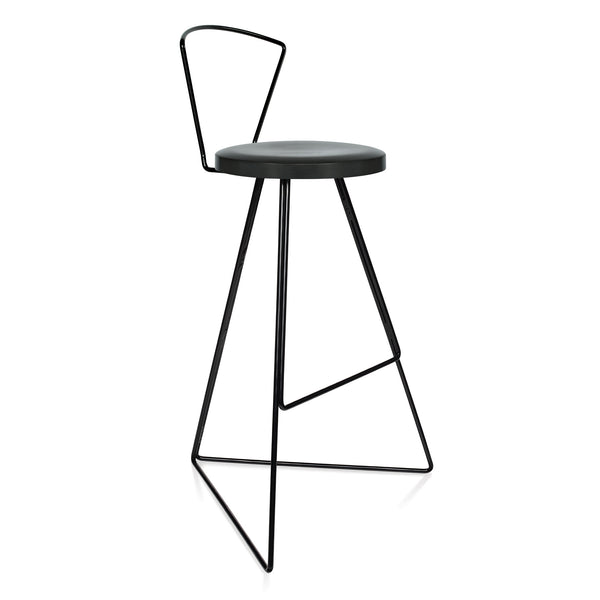The Coleman Stool with Backrest