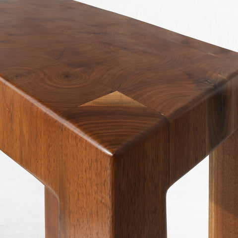 End Grain Side Table