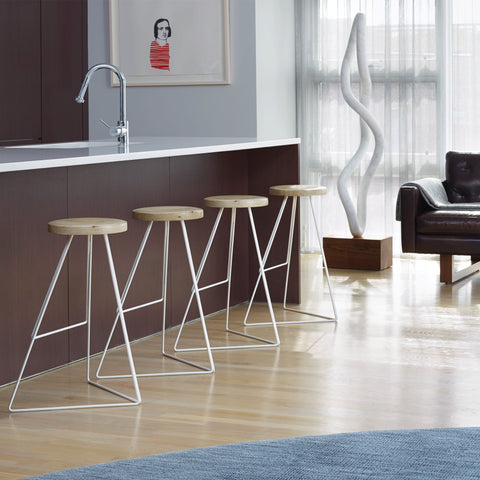 The Coleman Stool by Greta de Parry. Contemporary Modern Furniture and Bar Stool.