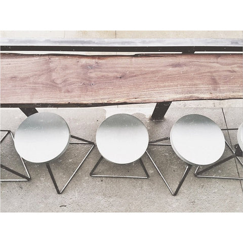 The Camp Stool by Greta de Parry. Contemporary Modern Furniture. Adjustable Stool.