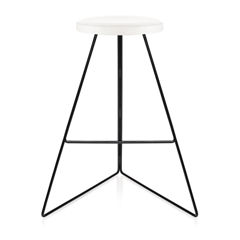 The Coleman Stool - Black Frame