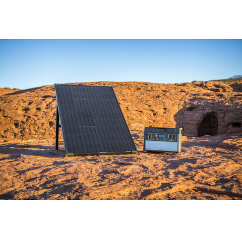 Goal Zero Yeti 1000 Lithium Power Station + Boulder 100 Solar Kit