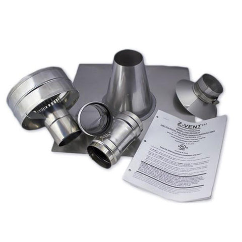 "Eccotemp 4"" Vertical Vent Kit Parts"