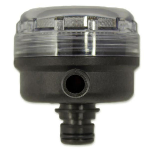 "Flojet 1/2"" Inlet Strainer top view 2"