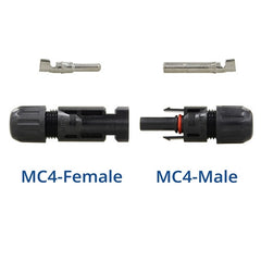 Renogy MC4 Male/Female Solar Panel Cable Connectors