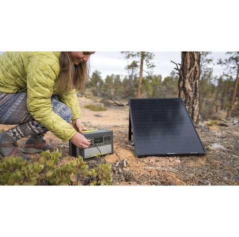 Goal Zero Yeti 400 Lithium Power Station + Boulder 100 Solar Kit