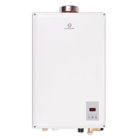 "Eccotemp 45HI Propane / Natural Gas Tankless Water Heater w/ 4"" Horizontal Vent Kit (REFURBISHED)"