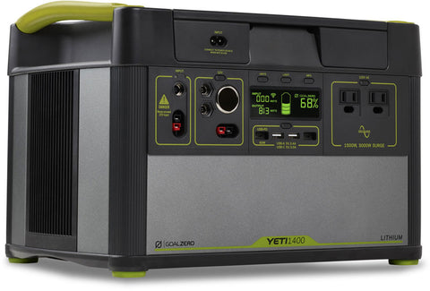 Goal Zero Lithium Yeti 1400 v2 with WiFi