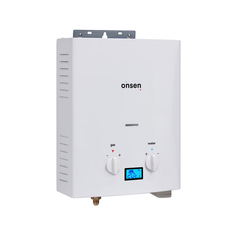Onsen 5L Portable Propane Water Heater with 12V Pump