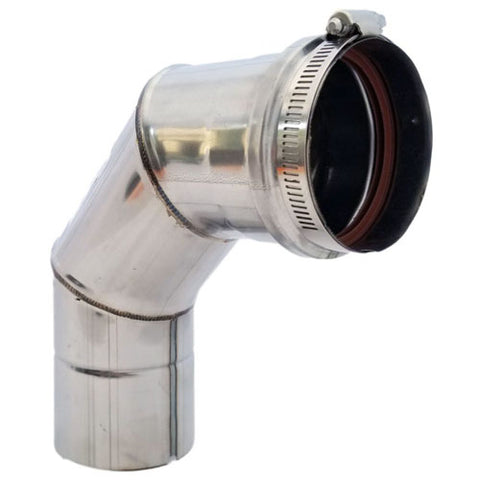Z-Vent 3″ x 90° Single Wall Elbow