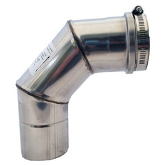 Z-Flex Z-Vent 3-in 90° Stainless Steel Elbow