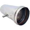 "Image of Z-Vent 4"" Horizontal Drain Pipe"