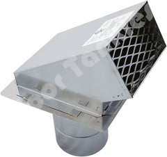 Z-Flex Z-Vent 4-in Stainless Steel Termination Hood