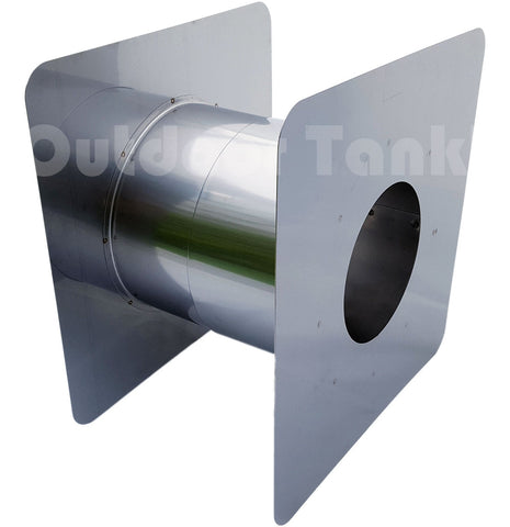 "Z-Vent 4"" Adjustable Wall Thimble"