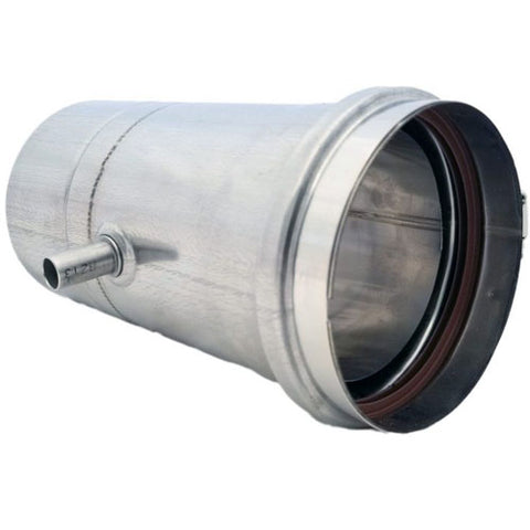Z-Flex Z-Vent 4-in Stainless Steel Water Heater Vertical Drain Pipe