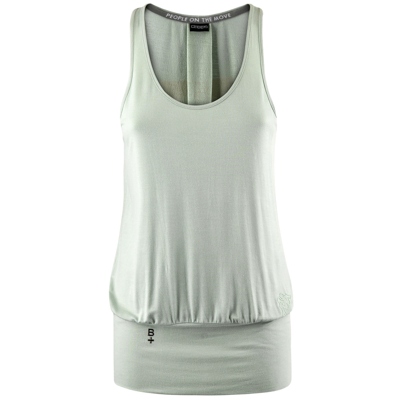 KAPPA WOMEN'S BE POSITIVE ZALBE-Regular FIt Training Yoga Tank Top