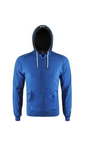 BE POSITIVE ZALDY - Men's Slim Fit Full Zip Hoody