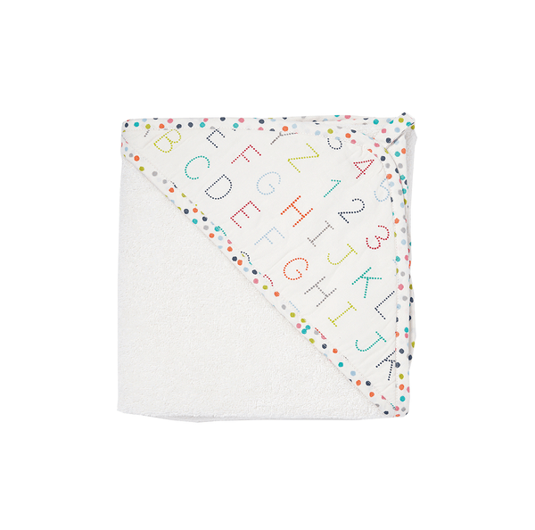 Alphabet Hooded Towel