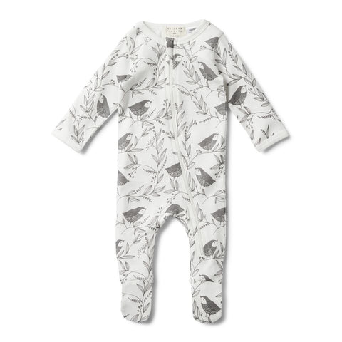 Little Flow long sleeve Zipsuit