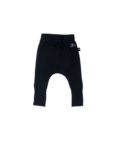 Hux Black track pants