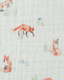 Little Unicorn Fox Cotton Swaddle