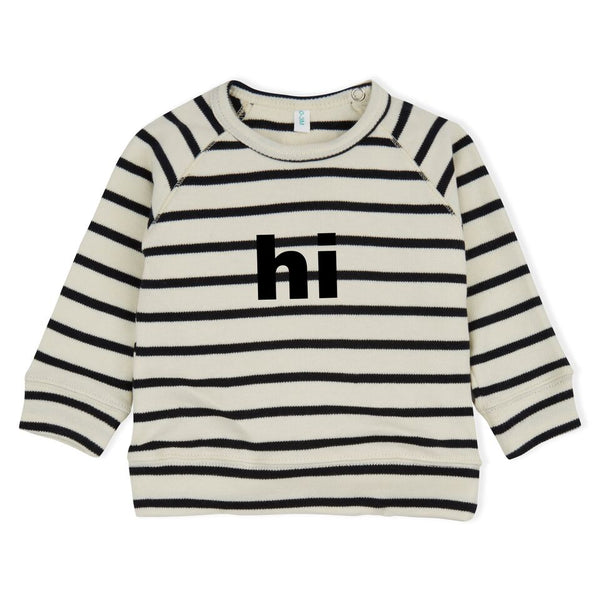 Stripe Sweater Hi