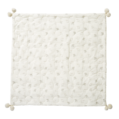 Little Lamb Quilted Pom Pom