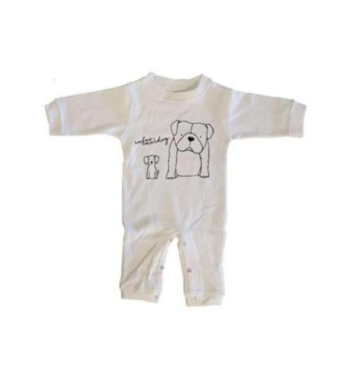 Rufus and Murdog Onesie