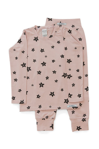 Rose Star Long PJ