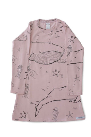 Rose Under The Sea LS Nightie