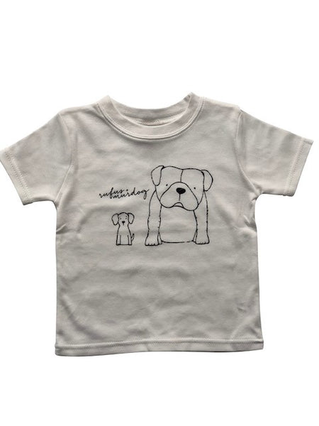 Rufus and Murdog T-Shirt White